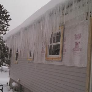Winter Siding Construction